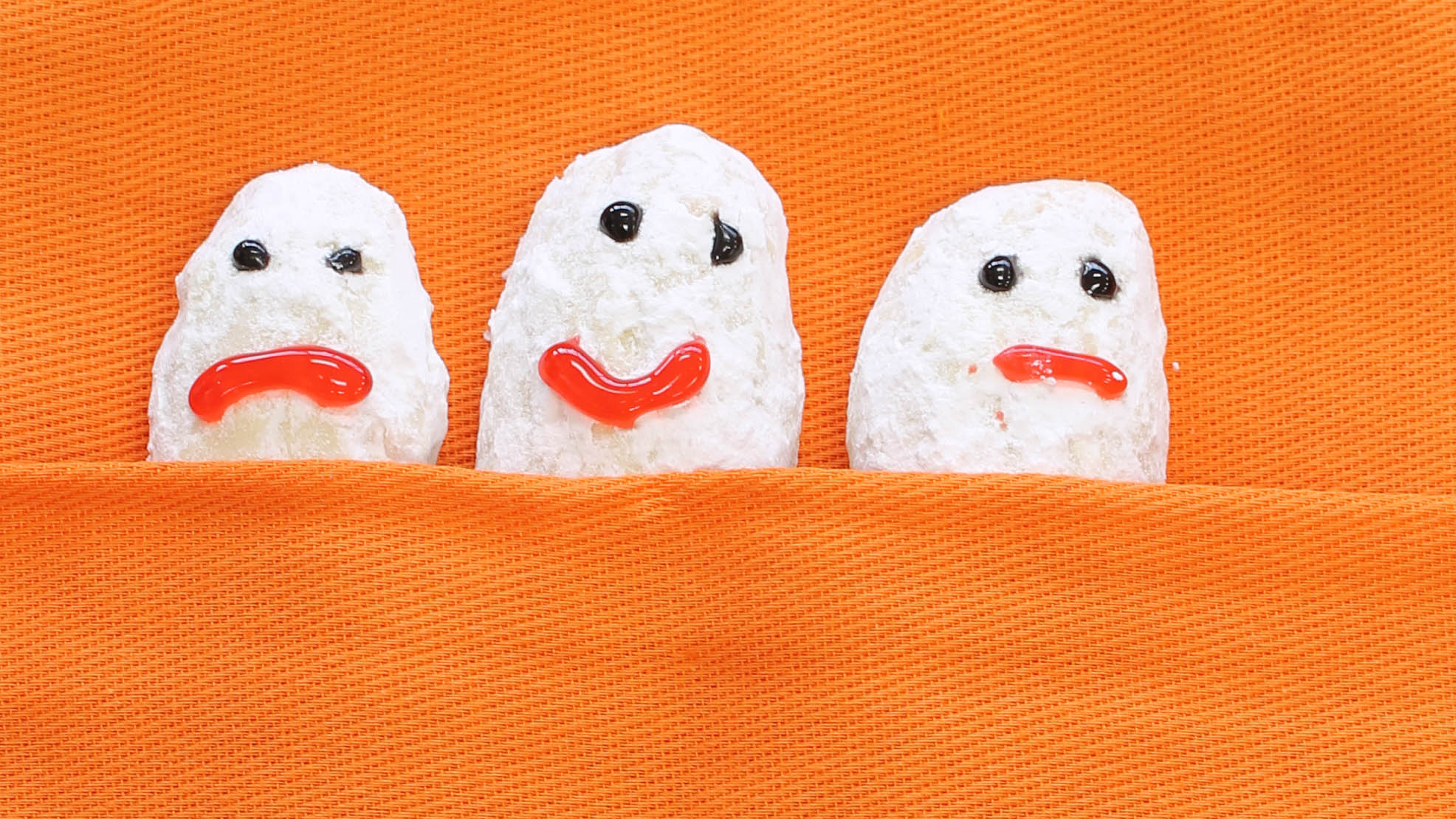 Protein Ghost Cookies Made with BiPro Whey Protein