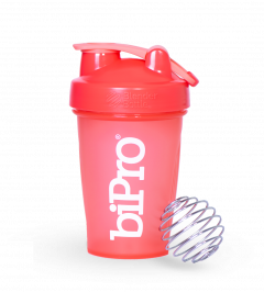BiPro BlenderBottle Classic (w/loop) 20oz Coral