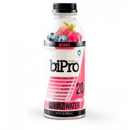 berry flavored protein water bipro usa