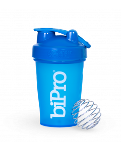 BiPro BlenderBottle Classic (w/loop) 20oz Cyan