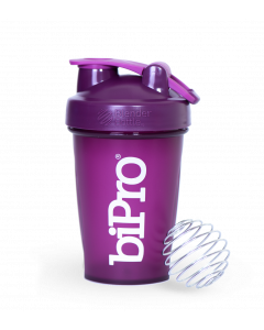 BiPro BlenderBottle Classic (w/loop) 20oz Plum