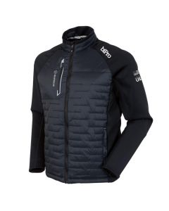 Men's Hamilton Thermal Hybrid Jacket - Black/Magnesium